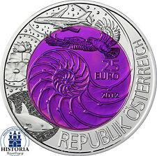 Österreich 25 Euro 2012 Hgh Silber Niob Serie: Bionik