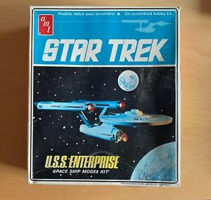 Vintage 1968 Original Star Trek USS Enterprise NCC-1701 AMT Model Kit #S951 NIB!