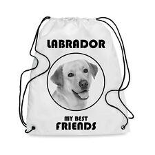Borsa Sacca cane LABRADOR MY BEST FRIEND
