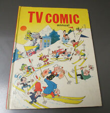 1969 TV COMIC ANNUAL BBC TV VG/FN Popeye Bugs Bunny Dr Who Avengers HC