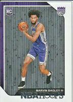 Marvin Bagley III Sacramento Kings 2018-19 Panini Hoops Rookie Card #258