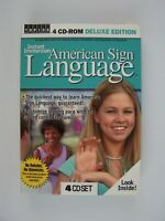 Instant Immersion American Sign Language by Topics Entertainment 4 CD Deluxe