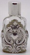 Vintage solid sterling silver 925 flacon de parfum-Hallmark Ari D Norman