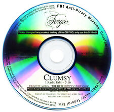 Fergie CLUMSY (Promo CD Single) (2007)