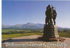Scotland Postcard - The Commando Memorial and Distant Ben Nevis   AB363