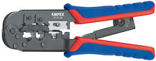 Knipex 97 51 10 Crimping Pliers for Western Plugs RJ 11 / 12 / 45 (975110)