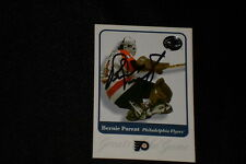 HOF BERNIE PARENT 2001 FLEER GREATS OF THE GAME SIGNED AUTOGRAPHED CARD #41