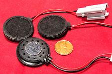 """3 pcs BeStar Round 34mm Speaker, 28ohm 0.5W - 450Hz to 20KHz 1 3/8"""" Watt BDT3228"""