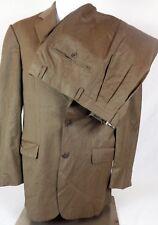 Burberry London Kensington Two Button Double Vent Suit Jacket Size 38R Pant 32