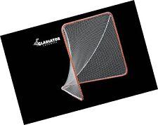 Gladiator Official Lacrosse Goal Net, Orange, 100% Steel Frame, 6 x 6-Foot New