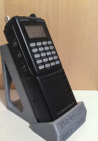 Desktop Stand for: YUPITERU MVT-7100  Hand Held Scanner / Receiver, BLACK/GREY