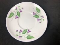 Shelley Fine Bone China Cup Saucer Only Replacement Campanula Pattern 11XX