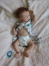 Ooak Reborn Newborn Baby Twin Maddox  Anatomically correct BOY BABY DOLL