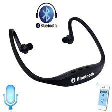Estéreo Inalámbrico Bluetooth Auriculares Auriculares Deporte para iPhone HTC Samsung (E-3)