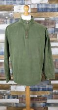 M&Co. Mens Green Cotton Long Sleeved Pullover Jumper Size L