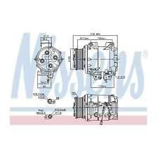 Fits Honda Accord MK7 2.4 VTEC E Genuine Nissens A/C Air Con Compressor
