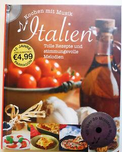 Italienisches Kochbuch Kochen mit Musik Italien