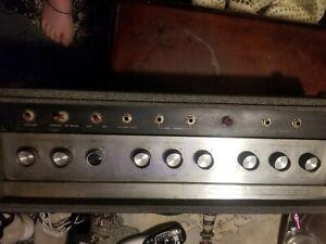 '66 Sears Silvertone 1484 used condition amp head