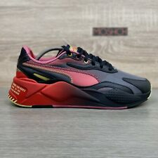 Puma x Sega RS-X3 Sonic The Hedgehog UK 9 Black Red Translucent