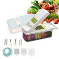 7In1 Food Vegetable Salad Fruit Peeler Cutter Slicer Dicer Chopper Kitchen Tools