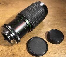 MC Auto Zoom 80-200mm f4 Lens W/ Front & back Caps for Minolta M MD SLR Cameras