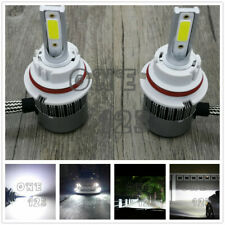 NEW 9004 HB1 6000K Super White 8000LM CREE LED Headlight Bulbs Kit High Low Beam