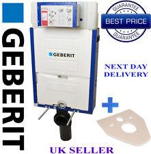 Geberit  kombifix WC toilet frame Wall Hung + WALL BRACKETS + MAT