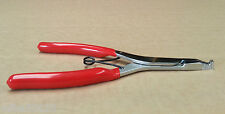ANGLE TIP LOCK RING PLIERS WIDE OPENING SERRATED NOTCHED TIPS FOR TRANSMISSIONS