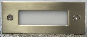 4PK LED Recessed Step Light Stainless Steel Cover From $29.50 Each Free Postage
