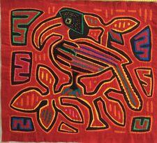 MOLA Vintage Art - Toucan Sam - Panama San Blas Island Cuna / Kuna