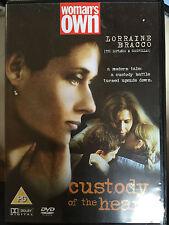 Lorraine Bracco, Martin Donovan CUSTODY OF THE HEART ~ Tear Jerker Drama UK DVD