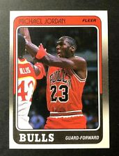 Michael Jordan 1988 Fleer 17 of 132 Sharp Corners