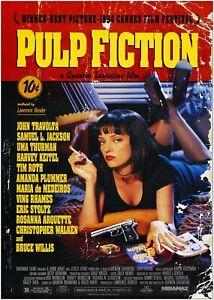 Pulp Fiction Classic Movie Large Poster Art Print A0 A1 A2 A3 A4 Maxi
