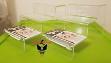 3 tier acrylic riser display stand figures hobby cosmetics multipurpose set of 2