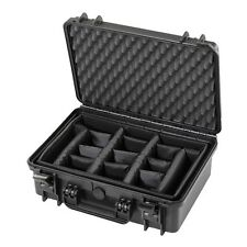 Waterproof Large Protective Hard Camera Case + Padded Moveable Foam Planks