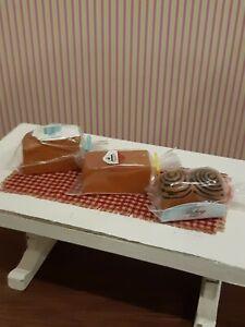Dollhouse Miniature 1:12 Three Loaves Of Bread