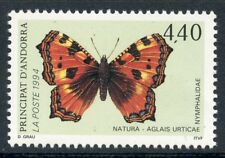 STAMP / TIMBRE ANDORRE NEUF N° 452 ** FAUNE PAPILLON