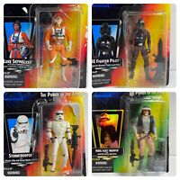 (Loose, 100% Comp.) '95-'96 Kenner The Power of the Force Star Wars 4 Figure Lot