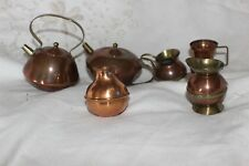 Job Lot Brass Copper Vintage Dolls House Kitchenalia