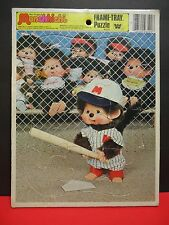 Monchhichi Frame Tray Puzzle Whitman 1981 Western Publishing 12 Pieces 4512C-35