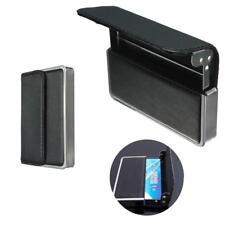 Business Pocket Black Leather Holder ID Card Credit Card Cases