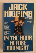 Jack Higgins. In The Hour Before Midnight. Vintage. Mafia. Mercenary. Action. Pb