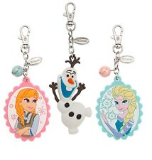 Disney Store Frozen Anna Elsa Olaf Bolsa Encanto de etiqueta NUEVO con etiquetas mochila Llavero De Princesa