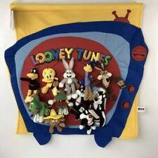 RARE New 1999 Warner Bros Hanging Mini Bean Bag Holder Beanies Bugs Bunny Daffy