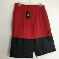 NWT NIKE Mens Jordan Jumpman Basketball Shorts M Red Black AQ8025-687
