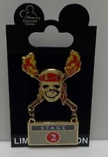 Disney Pirates of the Caribbean Dead Man's Chest Stage 2 Pin LE