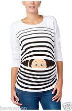 Maternity wear Pregnancy-Maternity_Sweatshirt with Sweet Babydruck BV1