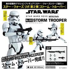 Revoltech 002 Star Wars StormTrooper Storm Trooper Action Figure Kaiyodo White