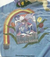 Plaid Full Color - Iron-On Transfer - Love The Earth # 57980