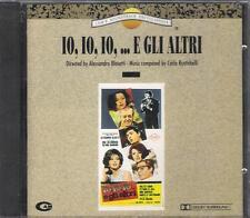 """CARLO RUSTICHELLI - RARO CD 1992 CELOPHANATO """" IO,IO,IO ... E GLI ALTRI """""""